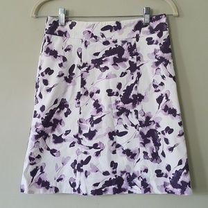 H&M Skirt S Line Floral Print 4